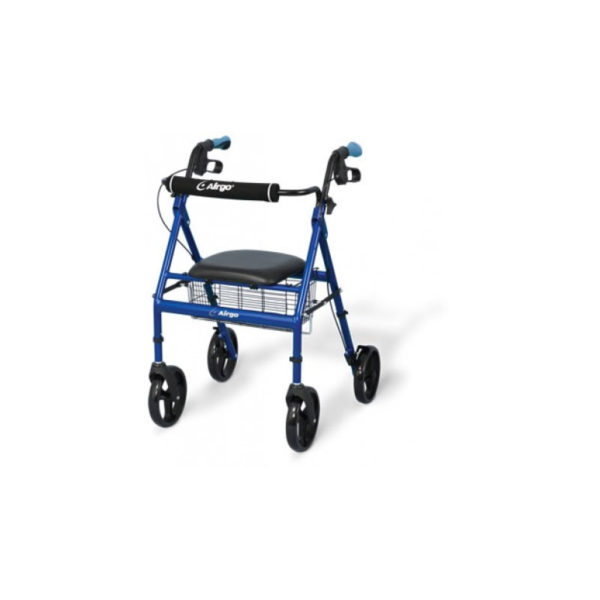 Airgo Lightweight Rollator Blue