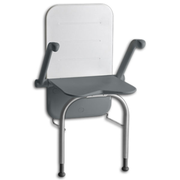 Etac Shower Seat Relax With Support Legs Down