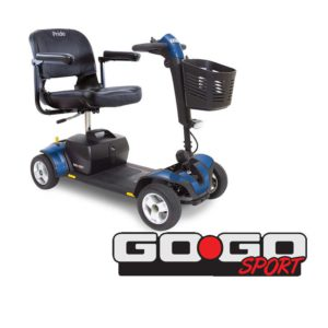 Travel Mobility Scooter GOGO Sport