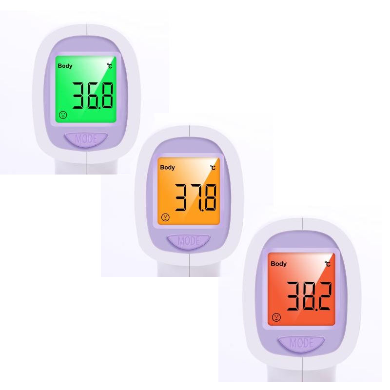 Colour Displays Non Contact Infrared Thermometer
