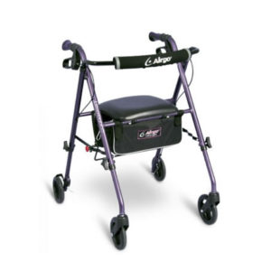 Airgo Ultra Light Rollator Eggplant