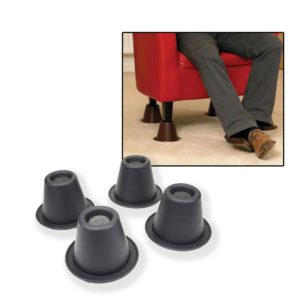 Homecraft Stackable Chair and Bed Risers 4 Pack