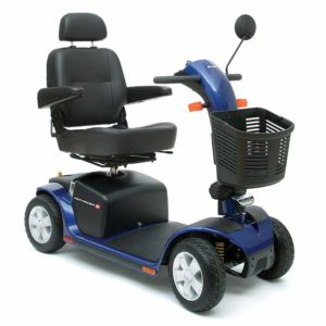 Luxury Mobility Scooter Pathrider 10 DX Viper Blue