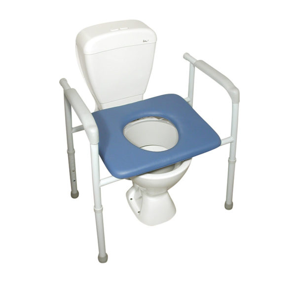 Bariatric All in One Over Toilet Frame