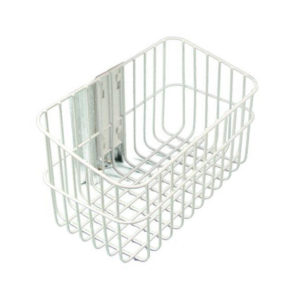 Patient monitor wall mount basket