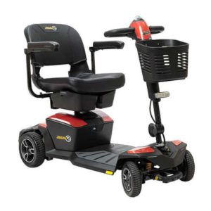 Travel Mobility Scooter Pride Zero Turn Fire Opal