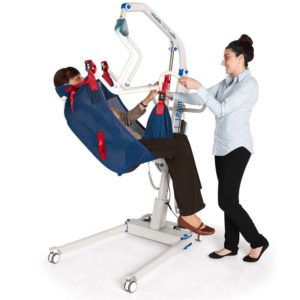 Etac ProSling Patient Lift Sling Pivot General Purpose with Head Support