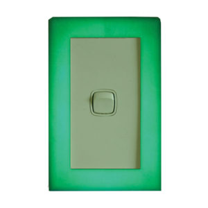 Glowing Light Switch Surround