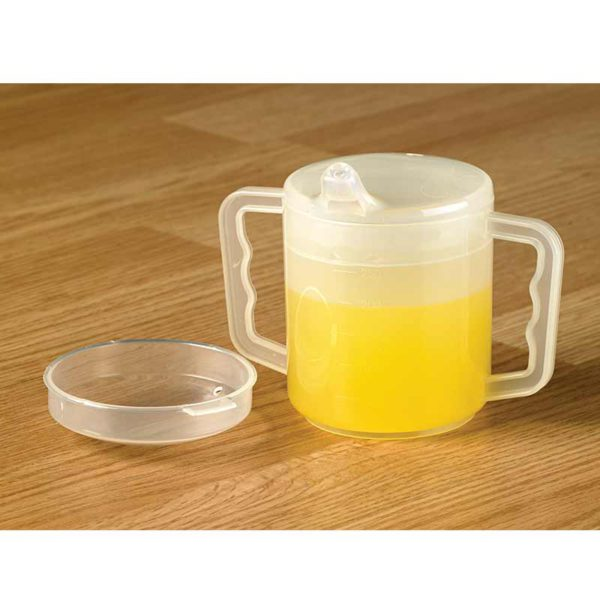 Homecraft Two Handled Mug and Lids
