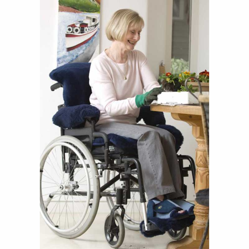 rt Sheepskin Wheelchair Protectors