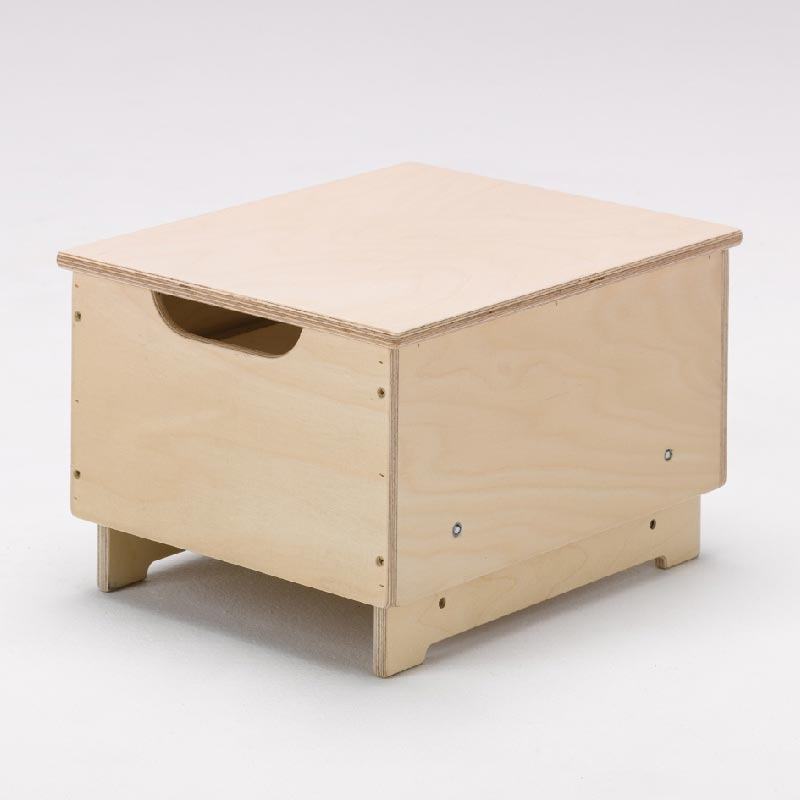 Adjustable Height Box Stool