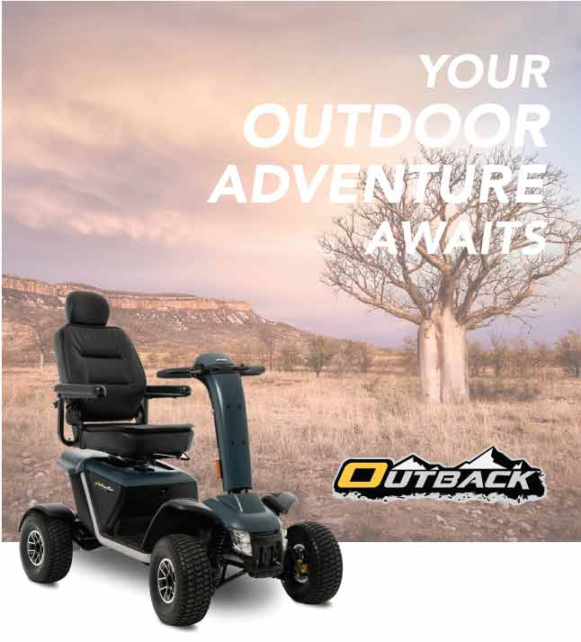 MV600 Outdoor Mobility Scooter Outback